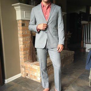 Banana Republic tailored fit suit